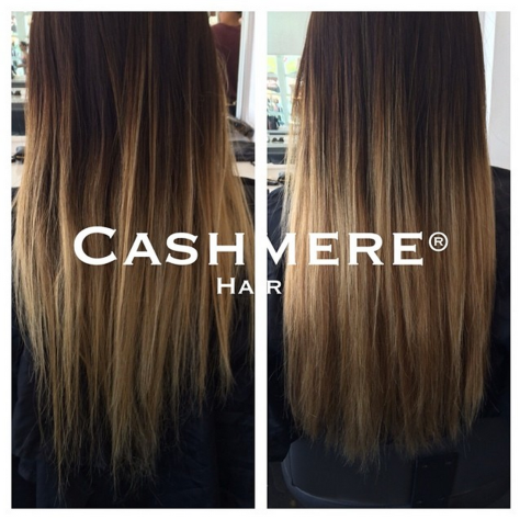 Cashmere Hair Before & After