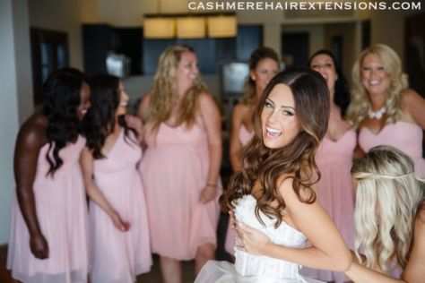 Cashmere Hair Extensions Bridal02