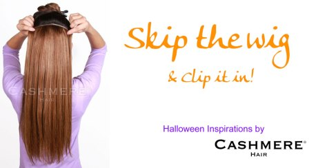 HALLOWEEN-CLIP-INS-CASHMERE HAIR EXTENSIONS