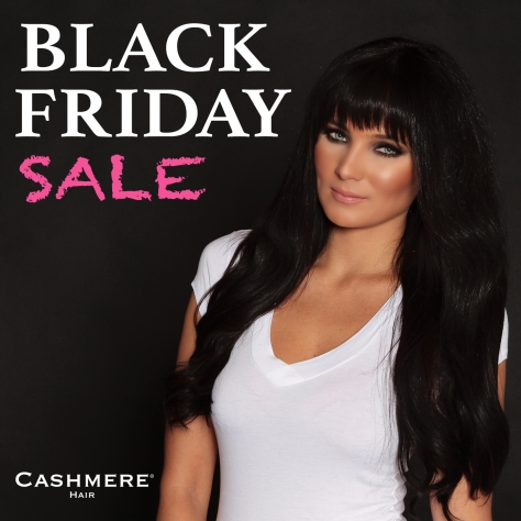 BLACK FRIDAY SALE cashmere hair extensions