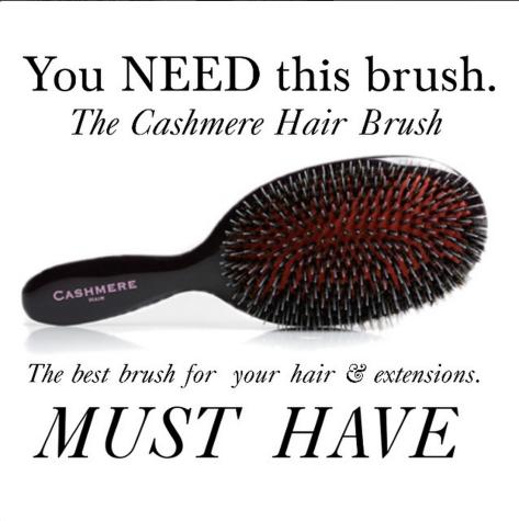Cashmere Hair Brush