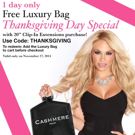 Thanksgiving SALE CASHMERE HAIR EXTENSIONS